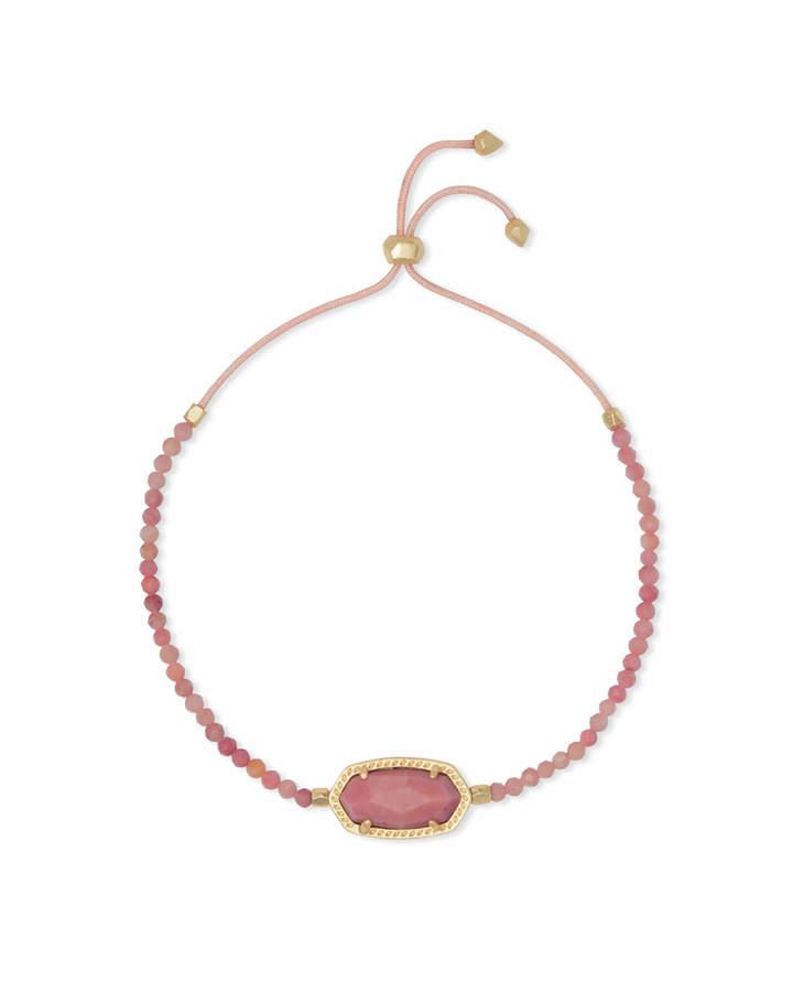 Kendra Scott Elaina Gold Beaded Chain Bracelet