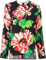 Stella McCartney floral print top - women - Spandex/Elastane/Viscose - 44