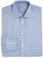 Turnbull & Asser Textured Check Classic Fit Dress Shirt