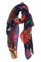 Desigual Yeah Colorful Scarf