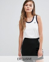 Fred Perry Exclusive Archive Ringer Tank