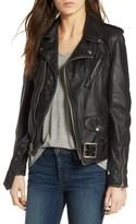 Schott NYC Women's Boyfriend Leather Jacket