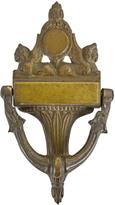 Rejuvenation Large Brass Neo-Grec Door Knocker c1910