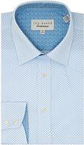 Ted Baker Men's Drake Geo Diamond Shirt