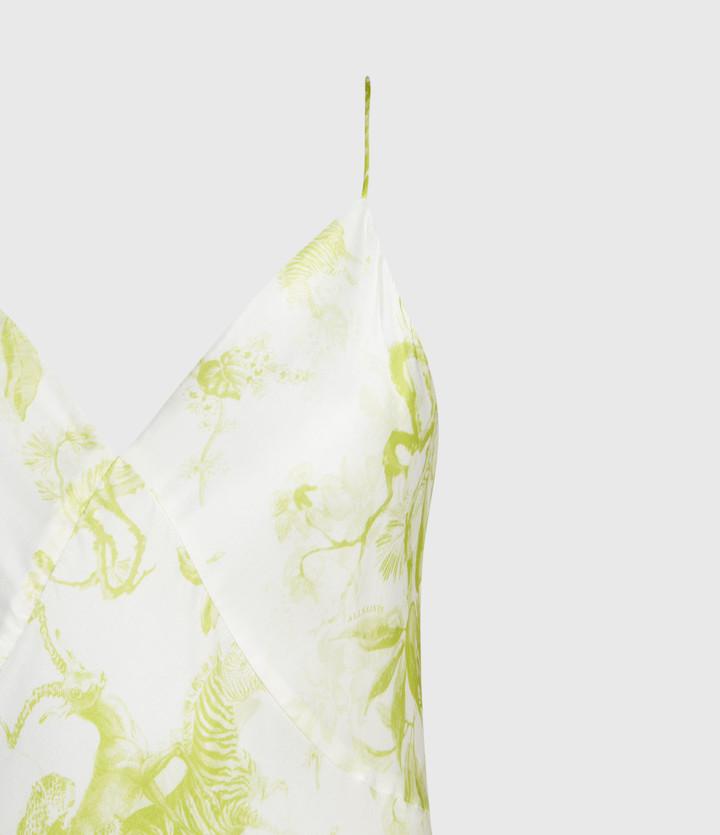 AllSaints Melody Riyaz Silk Blend Dress