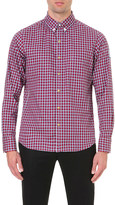 Moncler Gamme Bleu Regular-fit gingham cotton shirt