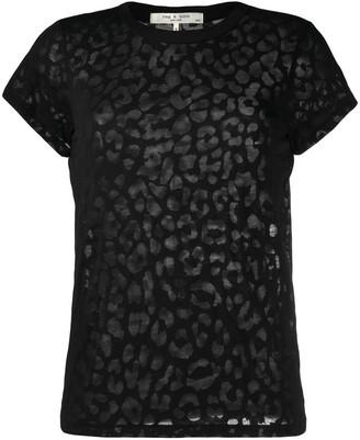 Rag & Bone animal-pattern T-shirt