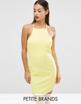 Boohoo Petite High Neck Bodycon Dress