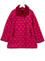 Oilily patterned coat