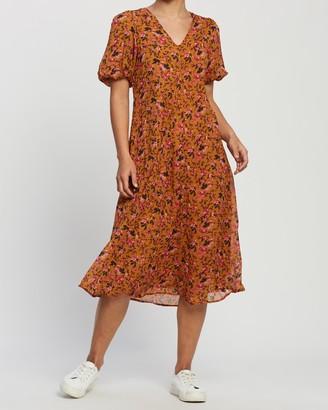 Vero Moda Vilde SS Woven Calf Dress