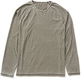 John Varvatos Raglan Burnout Long-Sleeve Tee