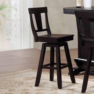 "ECI Furniture Rum Point 30"" Swivel Bar Stool (Set of 2 Furniture"