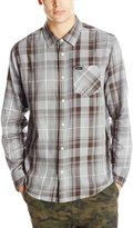 RVCA Men's Waas Long Sleeve Shirt