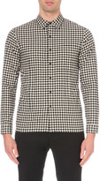 Sandro Checkers cotton shirt
