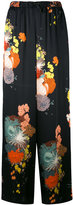 Dries Van Noten floral trousers
