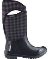 Bogs Plimsoll Houndstooth Tall Boot - Women's Black Multi 11.0