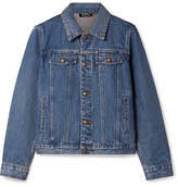 A.P.C. Cherry Denim Jacket - Mid denim