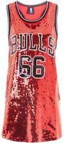 Chicago Bulls Sequin Tank Top by UNK X Topshop