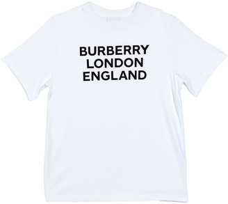 Burberry Girl's Abtot Logo Tee, Size 3-14