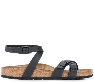 Birkenstock Blanca Slim cross-strap sandals