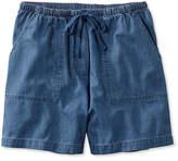 L.L. Bean Original Sunwashed Shorts, Denim