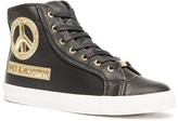 Love Moschino Side Zip Embellished Sneaker