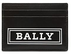 Bally Leather Logo Card Case