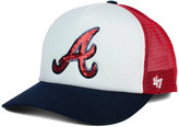 '47 Women's Atlanta Braves Glimmer Captain Snapback Cap