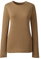 Classic Women's Petite Shaped Cotton Crewneck T-shirt-Zesty Orange