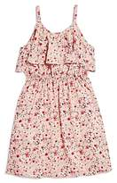 Aqua Girls' Floral Popover Dress, Big Kid - 100% Exclusive