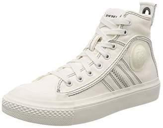 Diesel Women's S-astico Mid Lace Hi-Top Trainers, White (Star White T1015-Pr012)