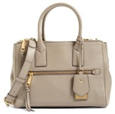 Marc Jacobs Recruit East/west Pebbled Leather Tote - Beige