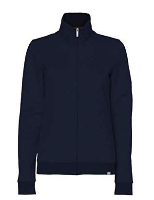 Puma CARE OF by Women's Zip Through Fleece Track Jacket, (Blue), (Size:S)