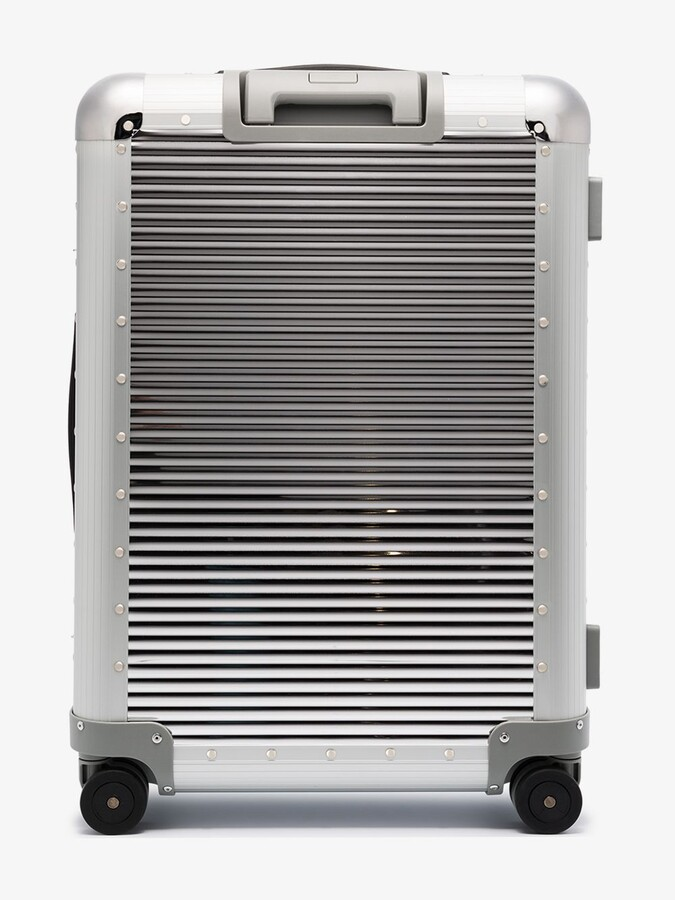 Thumbnail for your product : FPM Milano Silver Bank Spinner 68 Check-In Suitcase