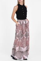 Paul & Joe Chiffon Printed Maxi Skirt