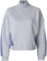 adidas by Stella McCartney funnel-neck sweatshirt