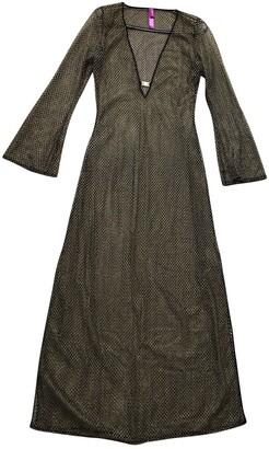 Agent Provocateur metallic Synthetic Dresses
