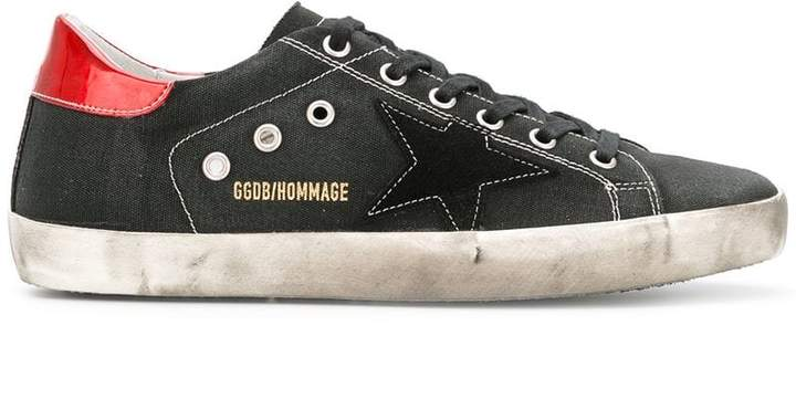 Golden Goose David Bowie Hommage Superstar sneakers