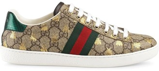 Gucci Ace GG Supreme bees sneakers