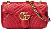 Gucci GG Marmont small leather matelasse shoulder bag