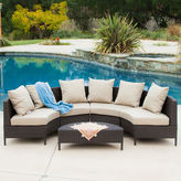 JCPenney Port Limon 5-pc. Wicker Outdoor Lounge Set