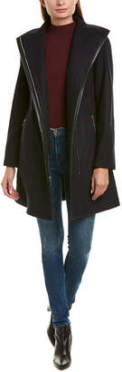 Tahari Elaine Boiled Wool-Blend Coat