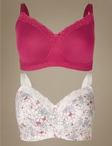 Marks and Spencer 2 Pack Post Surgery Full Cup Bra A-E