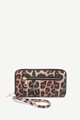 Ardene Faux Leather Leopard Wallet