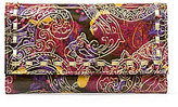 Patricia Nash Metallic Paisley Collection Terresa Wallet