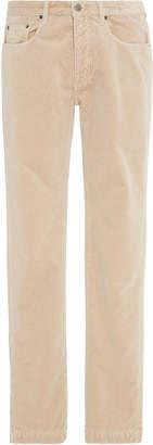 Massimo Alba Cotton-Velvet Slim-Leg Pants