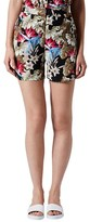 beyonce knowles  Who made  Beyonce Knowles floral print top and shorts?