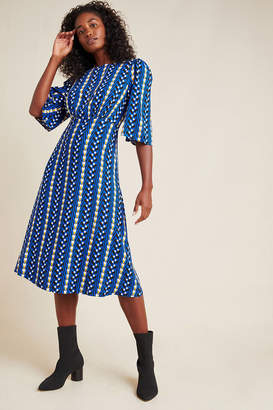 The Odells Marjorie Geo Midi Dress