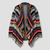 art class Girls' Striped Cardigan - Art Class Black