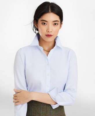 Brooks Brothers Classic-Fit Cotton Dobby Luxury Shirt